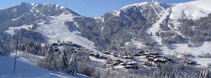Valmorel Photo de la station en hiver