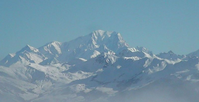 Mont Blanc vu de Valmorel Webcam 20 03 2011