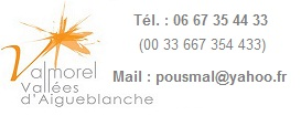 Coordonnées Location Valmorel Hameau du Mottet - Résidence Le Prariond