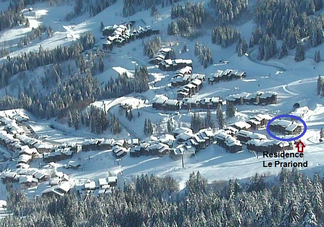 Photo Valmorel Webcam du 21/12/12 - Mottet Le Prariond