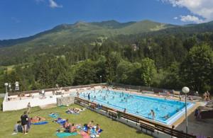 La piscine de Valmorel l'été !