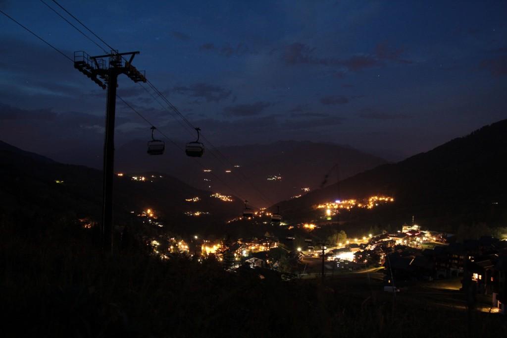 Valmorel de Nuit en été & Altispace