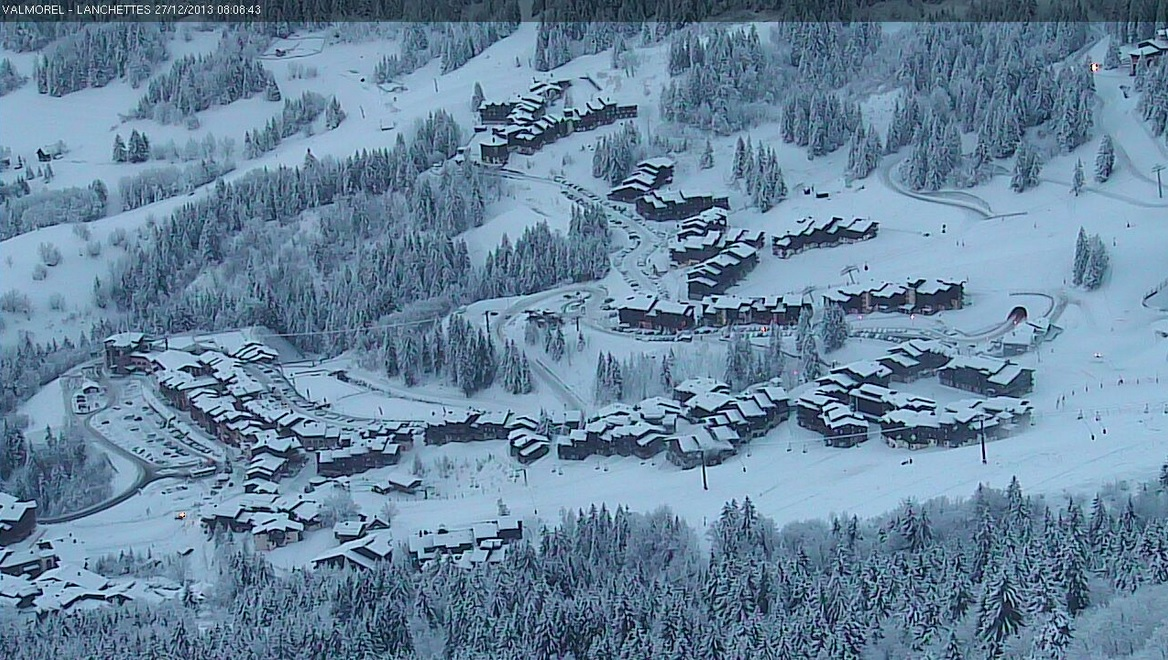 Valmorel 27 12 13 Webcam 8h