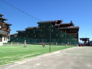 Prariond Valmorel Aire de Jeux Tennis