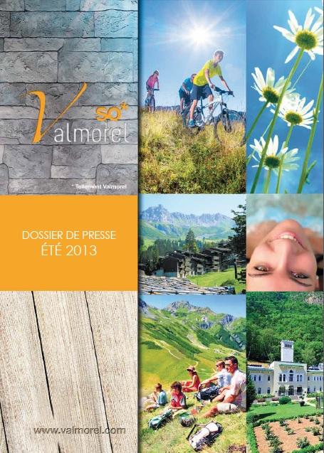 Valmorel Dossier de Presse Eté 2013