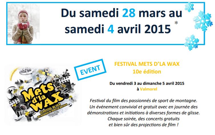 festival mets dla wax valmorel 2015