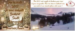 TRES BONNE ANNEE 2017 VOEUX